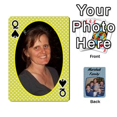 Queen Cards Completed By Dianne Marshall   Playing Cards 54 Designs   Dmrgk9jfs2vr   Www Artscow Com Front - SpadeQ