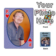 King Cards Completed By Dianne Marshall   Playing Cards 54 Designs   Dmrgk9jfs2vr   Www Artscow Com Front - HeartK
