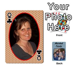 Queen Cards Completed By Dianne Marshall   Playing Cards 54 Designs   Dmrgk9jfs2vr   Www Artscow Com Front - ClubQ