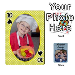 Cards Completed By Dianne Marshall   Playing Cards 54 Designs   Dmrgk9jfs2vr   Www Artscow Com Front - Spade10