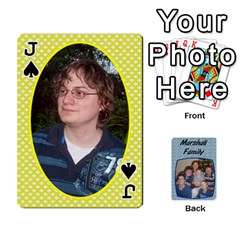 Jack Cards Completed By Dianne Marshall   Playing Cards 54 Designs   Dmrgk9jfs2vr   Www Artscow Com Front - SpadeJ
