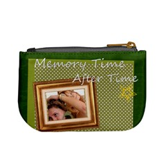 Memory Time By Wood Johnson   Mini Coin Purse   09evt8q1hmgu   Www Artscow Com Back