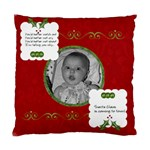 Red Santa Cushion Case (2 sided) - Standard Cushion Case (Two Sides)