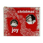 Christmas Joy extra large cosmetics bag - Cosmetic Bag (XL)