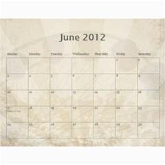 2012 Calendar By Tonya Regular   Wall Calendar 11  X 8 5  (12 Months)   Mmladuvkqezu   Www Artscow Com Jun 2012