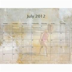 2012 Calendar By Tonya Regular   Wall Calendar 11  X 8 5  (12 Months)   Mmladuvkqezu   Www Artscow Com Jul 2012