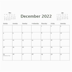 Calendar Template  Colorful  By Jennyl   Wall Calendar 11  X 8 5  (12 Months)   Lk5uy5mpy8rb   Www Artscow Com Dec 2017