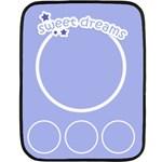sweet dreams blanket 02 - Fleece Blanket (Mini)