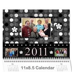 Final Gigi Cal By Erin   Wall Calendar 11  X 8 5  (12 Months)   8gz7b6ugjldo   Www Artscow Com Cover