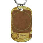 Feeling Nostalgic Round Frame - Dog Tag (One Side)