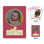 Playing Cards (Single Design) Bath Time - Playing Cards Single Design