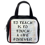 TEACHER BAG 2 - Classic Handbag (One Side)