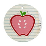 APPLE ORNAMENT - Ornament (Round)