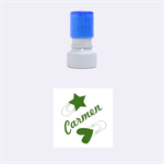 Carmen - Rubber Stamp Round (Small)