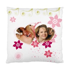 Love By Wood Johnson   Standard Cushion Case (two Sides)   T805ub0q53uc   Www Artscow Com Back