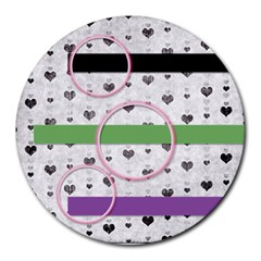 Mouse Pads By Brookieadkins Yahoo Com   Collage Round Mousepad   6eb05csbi3o6   Www Artscow Com 8 x8 Round Mousepad - 16