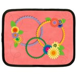 Flowers laptop case-L - Netbook Case (Large)