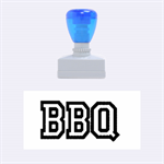 bbq - Rubber Stamp (Medium)