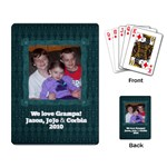 Grampa Don s Cards - Playing Cards Single Design