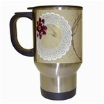 I kiss better than i cook, travel mug - Travel Mug (White)