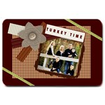 turkey time door mat - Large Doormat