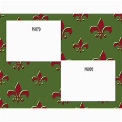Flor De Lis 12 Month Calendar *cute* By Amanda Bunn   Wall Calendar 11  X 8 5  (12 Months)   Qtxzk0gsns7l   Www Artscow Com Month