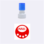 Marc circle - Rubber Stamp Round (Small)