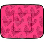 LOVE BLANKET - Fleece Blanket (Mini)