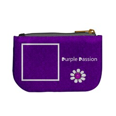 Purple Mini Coin Purse By Purplekiss   Mini Coin Purse   Ybd3dxso71a3   Www Artscow Com Back