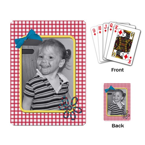 Playing Cards 2 By Martha Meier   Playing Cards Single Design   Ndro6sqpj7x8   Www Artscow Com Back