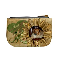 Sunflower Mini Purse   Love By Lmw   Mini Coin Purse   D45dr6hcskwh   Www Artscow Com Back