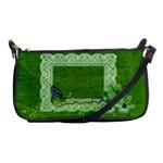 Green butterfly-clutch - Shoulder Clutch Bag