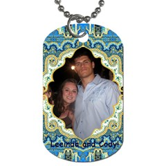 Necklace! By Leeinda Martin Moore   Dog Tag (two Sides)   Asxbjws26mpe   Www Artscow Com Front