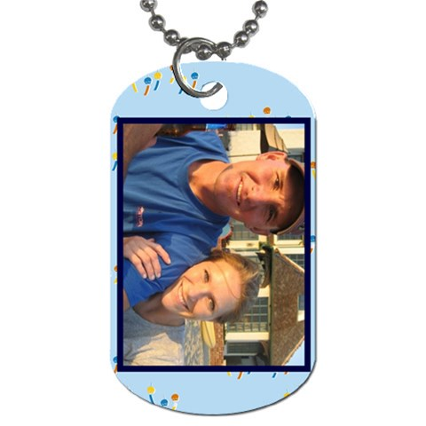 Lacixmas1 By Robyn Ekker   Dog Tag (one Side)   83q5xnzadw2p   Www Artscow Com Front