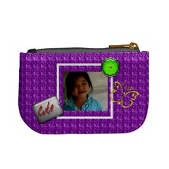 Cutie Purple Mini Coin Purse By Purplekiss   Mini Coin Purse   Gxiuc244ee3h   Www Artscow Com Back