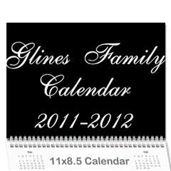 Our Calendar By Sarah   Wall Calendar 11  X 8 5  (18 Months)   Ug64y9vpdbku   Www Artscow Com Cover