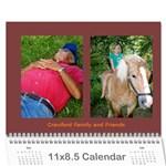 Crawford Calendar - Wall Calendar 11  x 8.5  (12-Months)