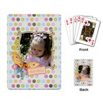 adorable playing cards - Playing Cards Single Design