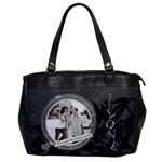 Love Makes The World Go Round Oversize Office Handbag