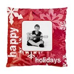 happy holidays peace & joy cushion - Standard Cushion Case (Two Sides)