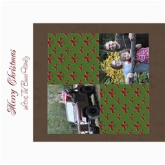 Flor De Lis Christmas Card By Amanda Bunn   5  X 7  Photo Cards   8l17186yl89a   Www Artscow Com 7 x5 Photo Card - 9