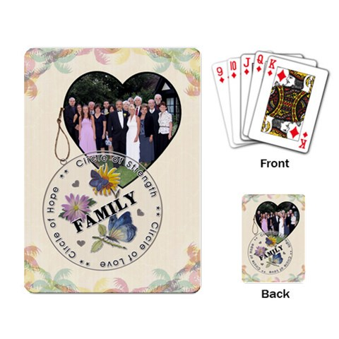 Family Playing Cards By Lil    Playing Cards Single Design   8gwq4bv7mg2z   Www Artscow Com Back
