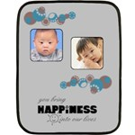 Baby blue  Blanket - Fleece Blanket (Mini)