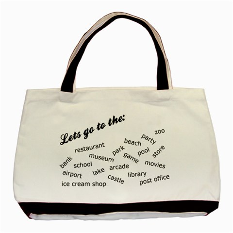 Tote1 By Misty Burgueno   Basic Tote Bag   Izkiqro0p4uo   Www Artscow Com Front