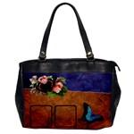 Butterflies BAG one side - Oversize Office Handbag