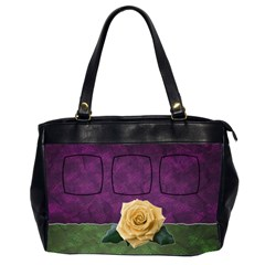 Rose Bag Two Sides By Carmensita   Oversize Office Handbag (2 Sides)   Ohmkhbityuz4   Www Artscow Com Front