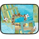 Beach Blanket - Fleece Blanket (Mini)