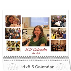 Lab Calender By Wei   Wall Calendar 11  X 8 5  (12 Months)   W2cn4jj3rb6d   Www Artscow Com Cover