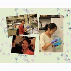 Lab Calender By Wei   Wall Calendar 11  X 8 5  (12 Months)   W2cn4jj3rb6d   Www Artscow Com Month