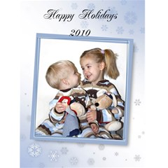 Holiday Card By Vittoria   Greeting Card 4 5  X 6    Plt43tyl61n7   Www Artscow Com Front Cover